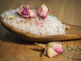 Sel de Perse fleur de rose bio